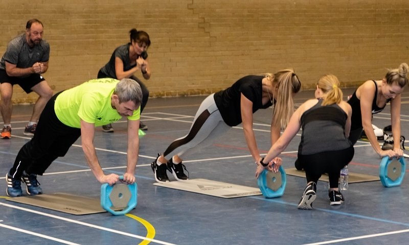 HIIT Class at Yateley Health & Fitness