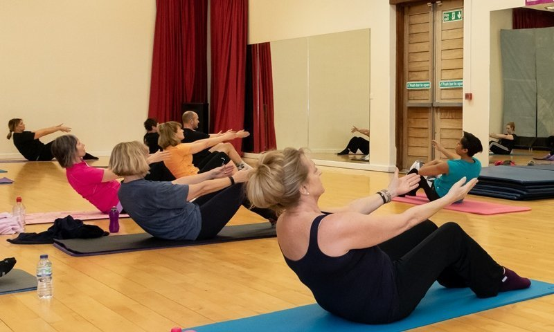 Pilates Class at Yateley Health & Fitness