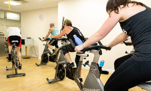 Spinning Class at Yateley Healtrh & Fitness