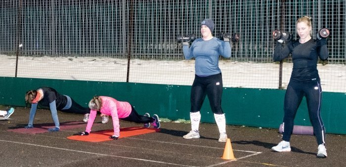 Bootcamp at Yateley Health & Fitness