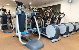 Yateley Health & Fitness cardio area
