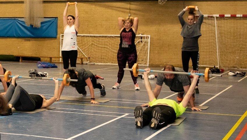 Yateley Health & Fitness - HIIT Class