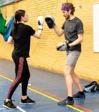 Boxercise at Yateley Health and Fitness